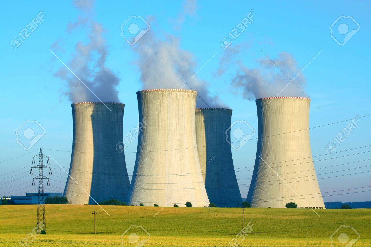 nuclear power plant Stock Photo - 8024504
