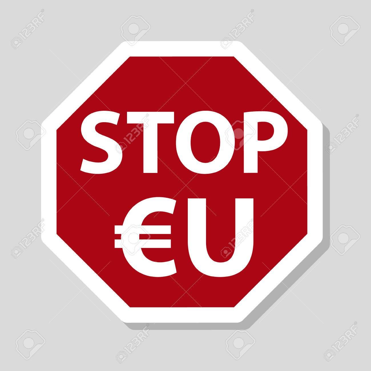 Color stop european union sign eu with euro currency symbol color stop european union sign eu with euro currency symbol stock vector 59212838 buycottarizona Gallery
