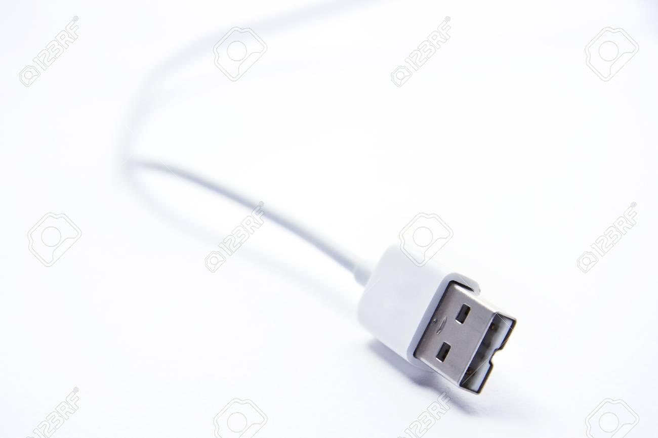 USB Jack on white background Stock Photo - 7741447