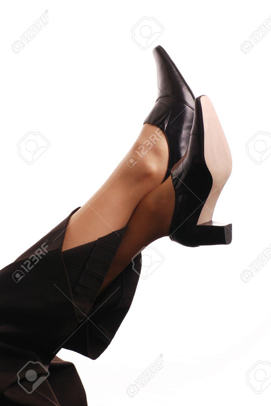 Foot job big boobs