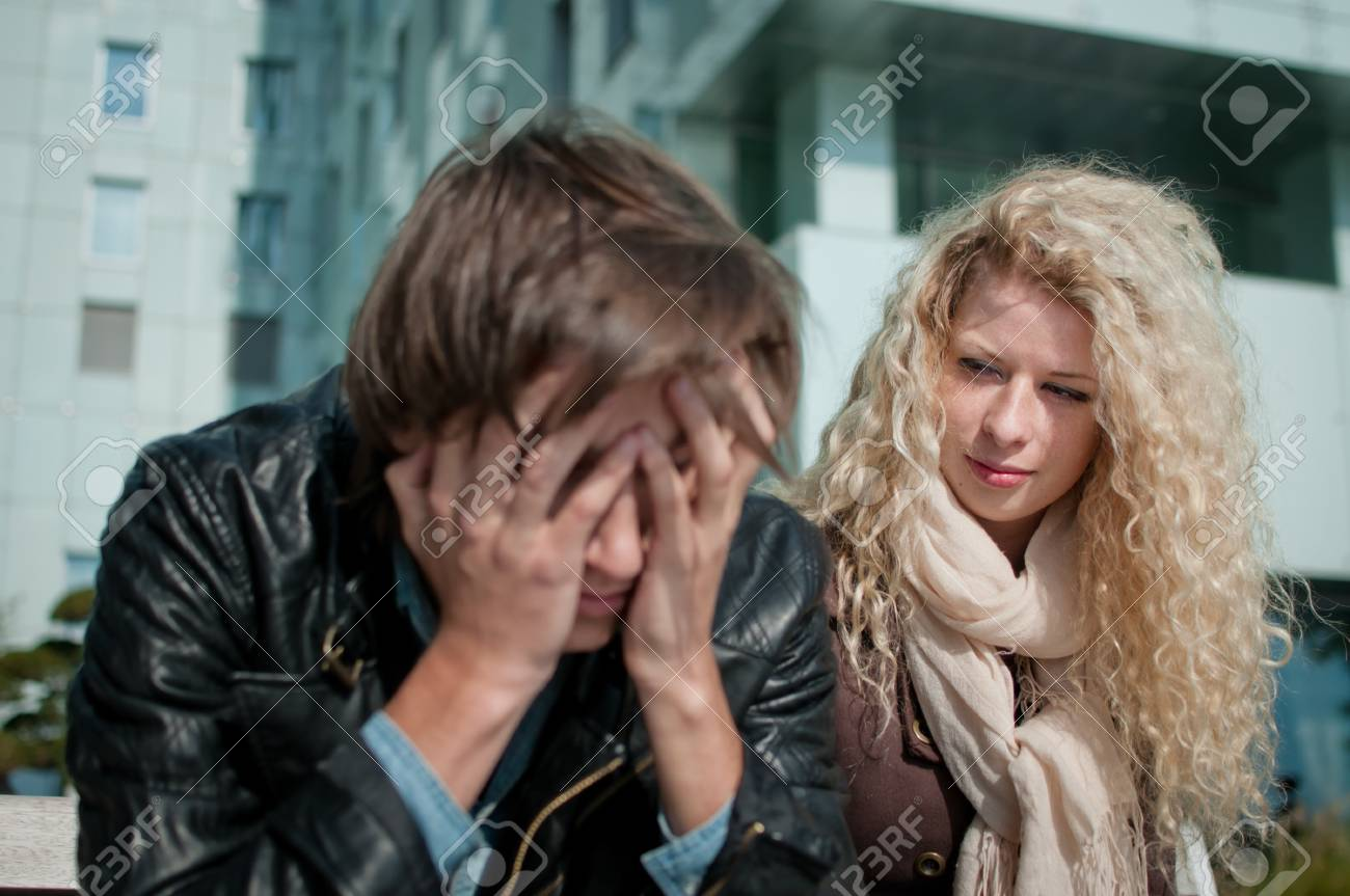 Big problems - man in troubles Stock Photo - 11223521