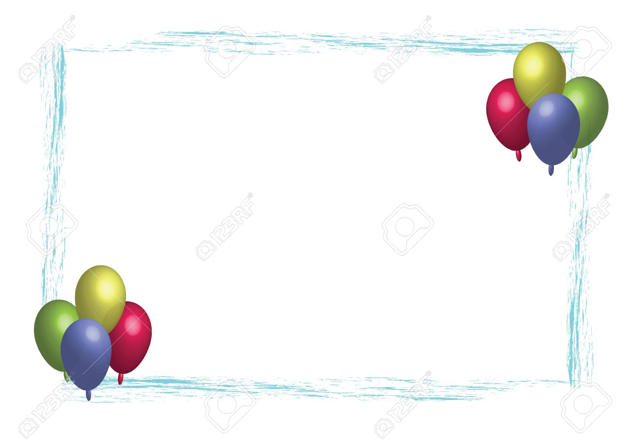 Party Balloons Royalty Free Cliparts, Vectors, And Stock ...