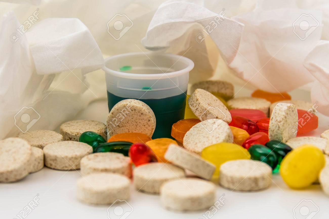 medicamento para el dolor de garganta y tos