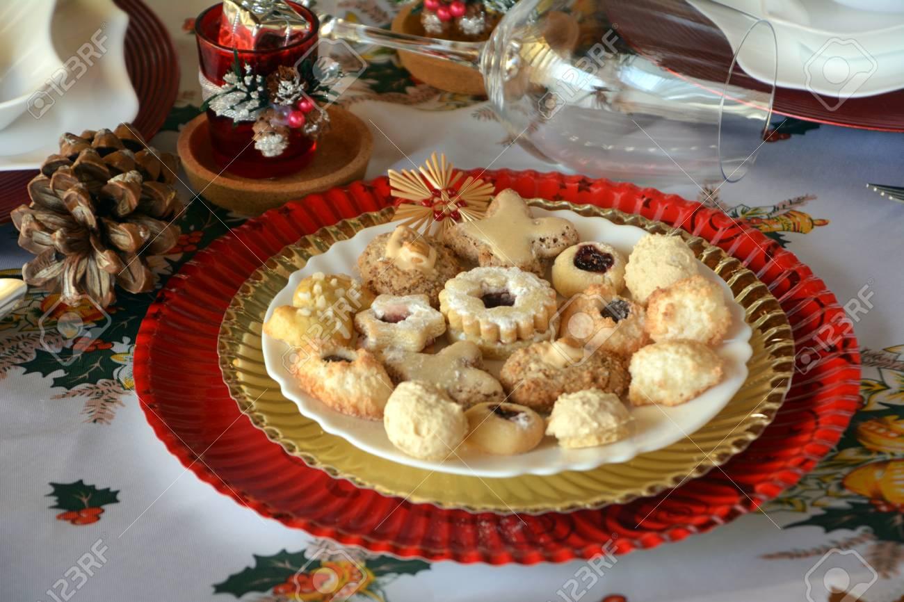 Dessert de noel biscuit