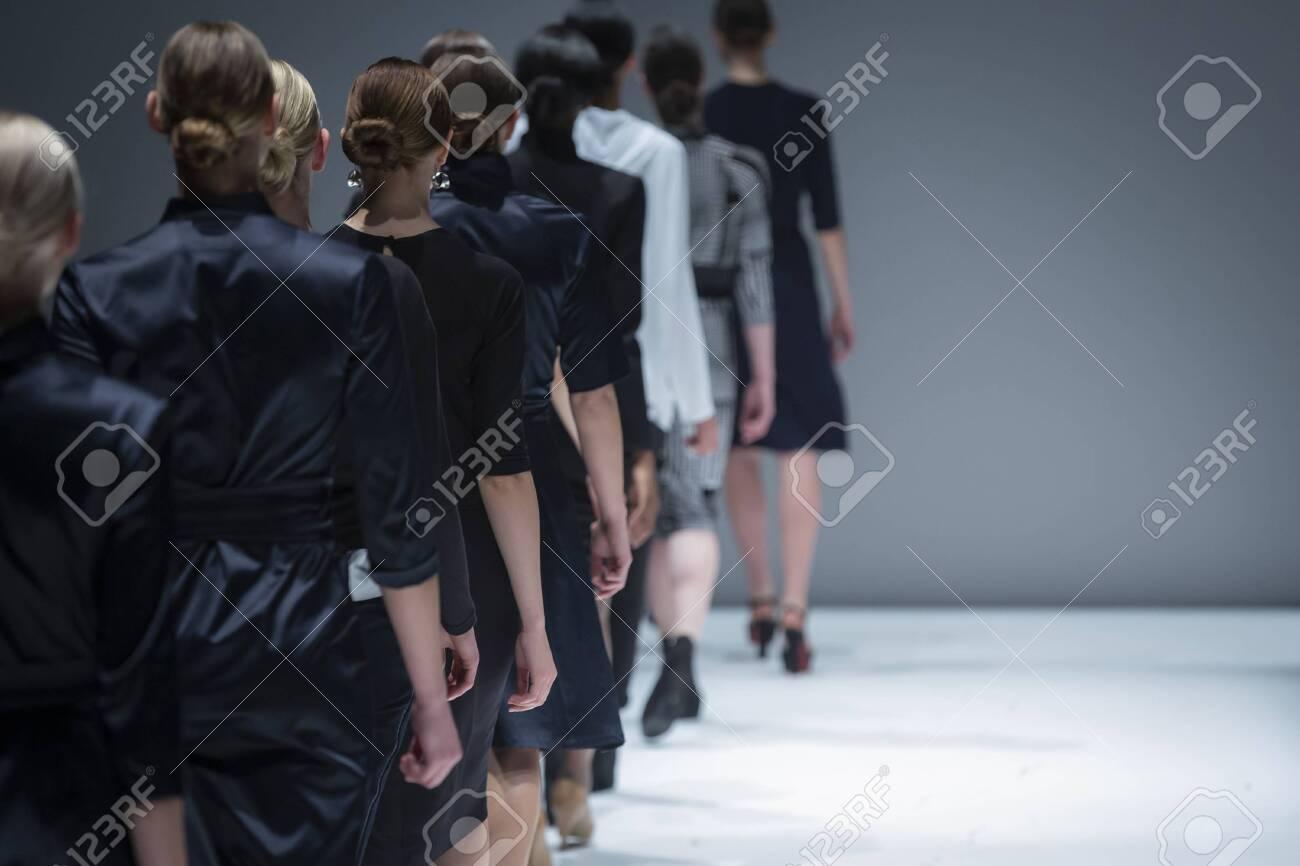 Fashion Show, Catwalk Runway Show Event - 140950485