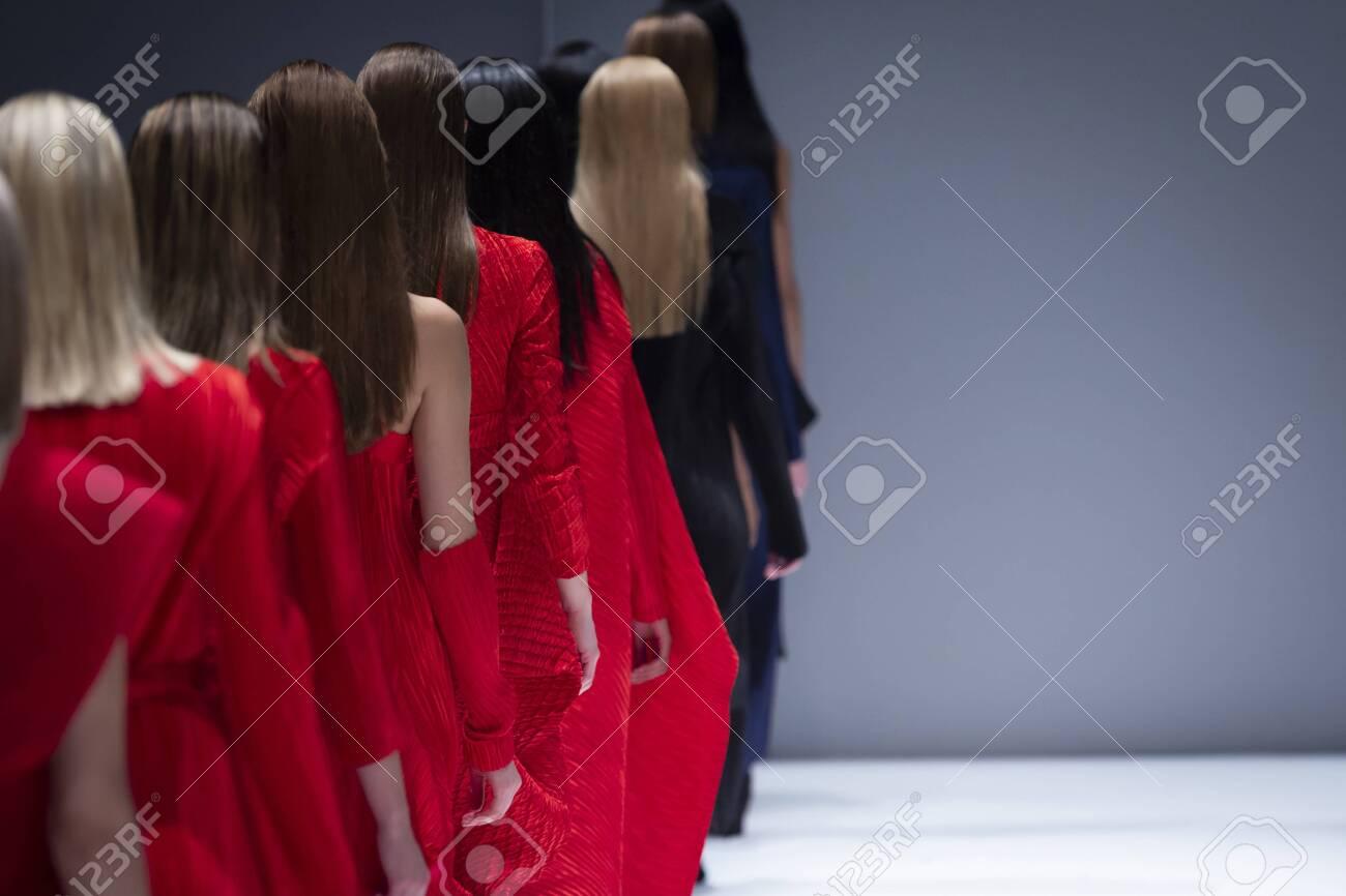 Fashion Show, Catwalk Runway Show Event - 140950929