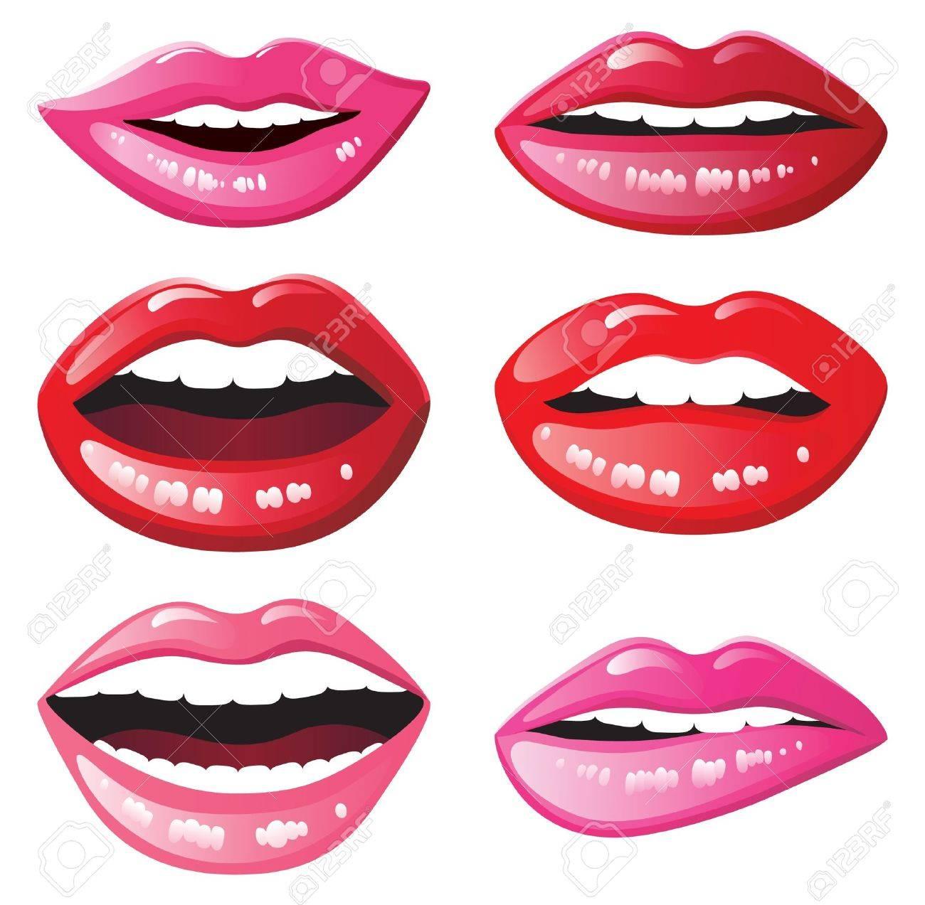 Фотошоп как сделать блестящие губы