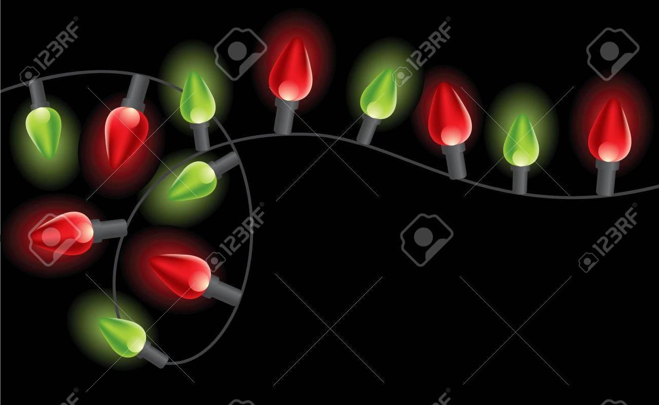 Christmas lights Stock Vector - 14270123