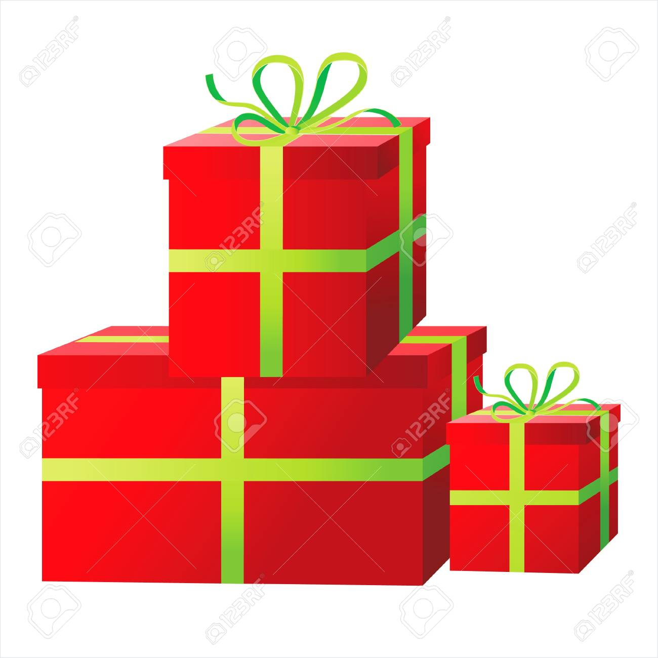 presents boxes Stock Vector - 14270068