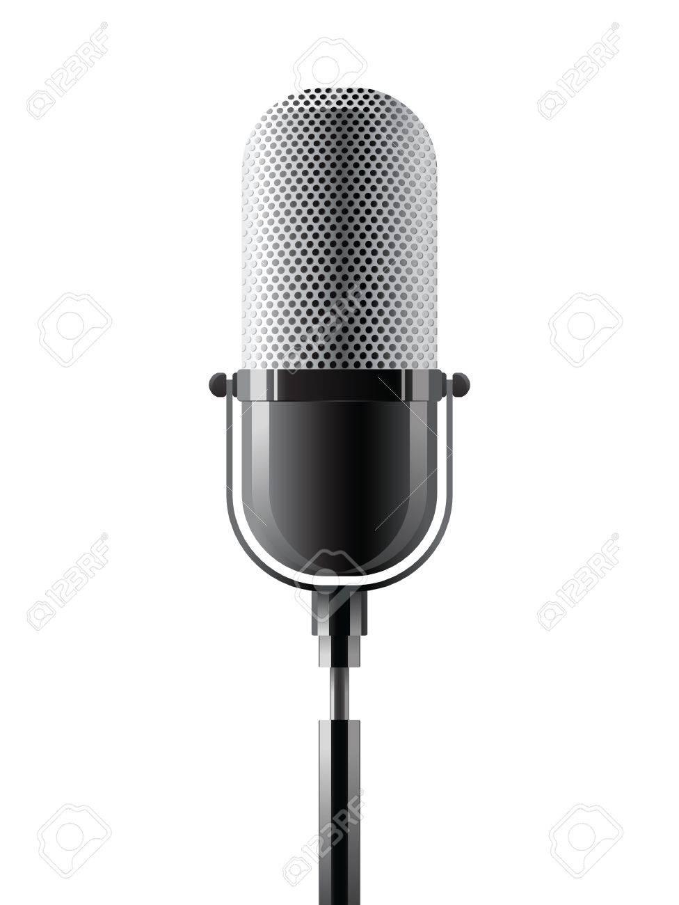 microphone Stock Vector - 14270167