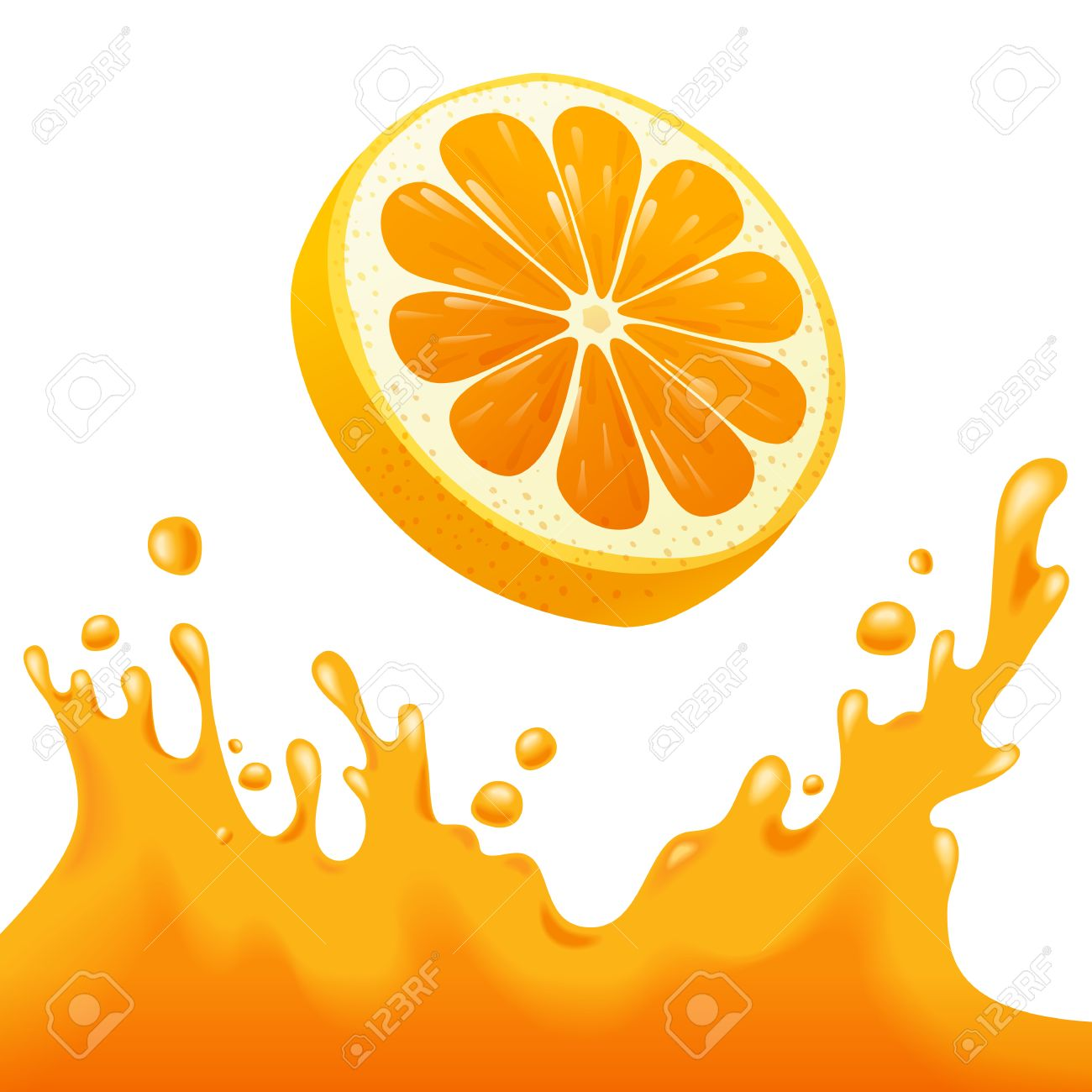 bright background with orange and orange juice splash royalty free rh 123rf com