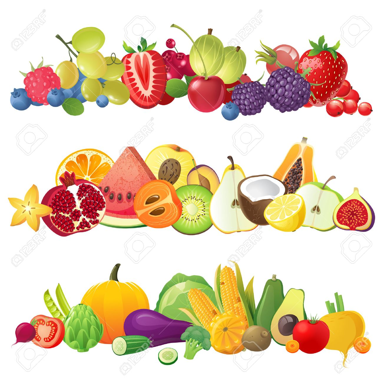 Free Pictures Of Fruits And Veggies