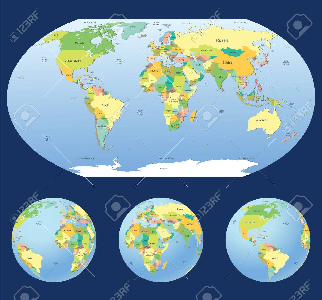 Highly detailed world map with 3 earth globes on coordinates of earth, earthquake earth, encyclopedia of earth, death of earth, inhabitants of earth, gps of earth, united states of earth, camera of earth, city of earth, existence of earth, google of earth, information of earth, sun of earth, project of earth, detailed aruba map, photographs of earth,