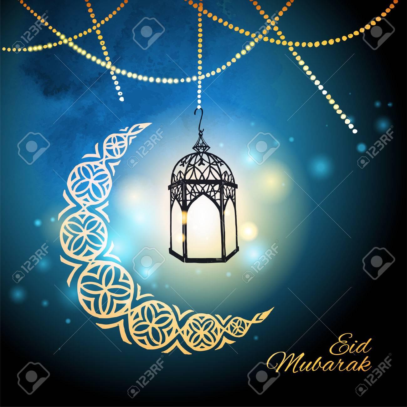 Eid mubarak greeting card template royalty free cliparts vectors eid mubarak greeting card template stock vector 73802584 m4hsunfo