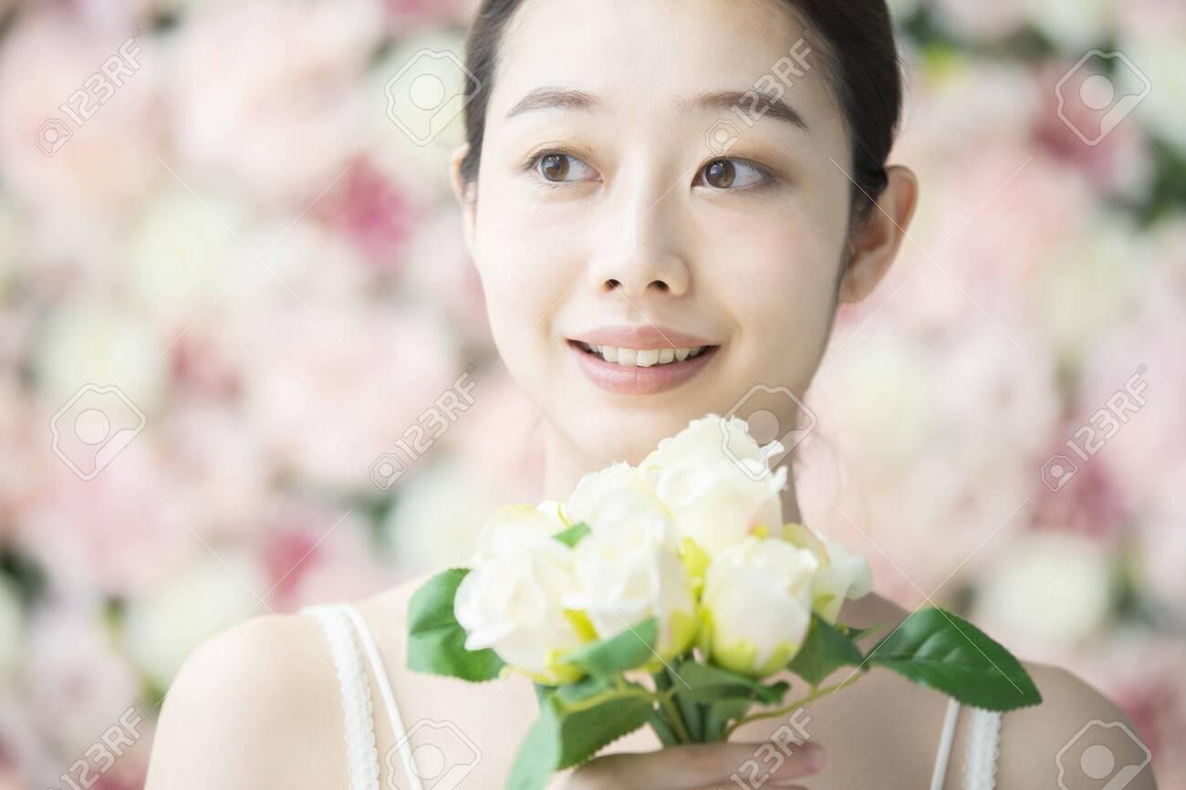 Skin Care, Flower Background - 135456083