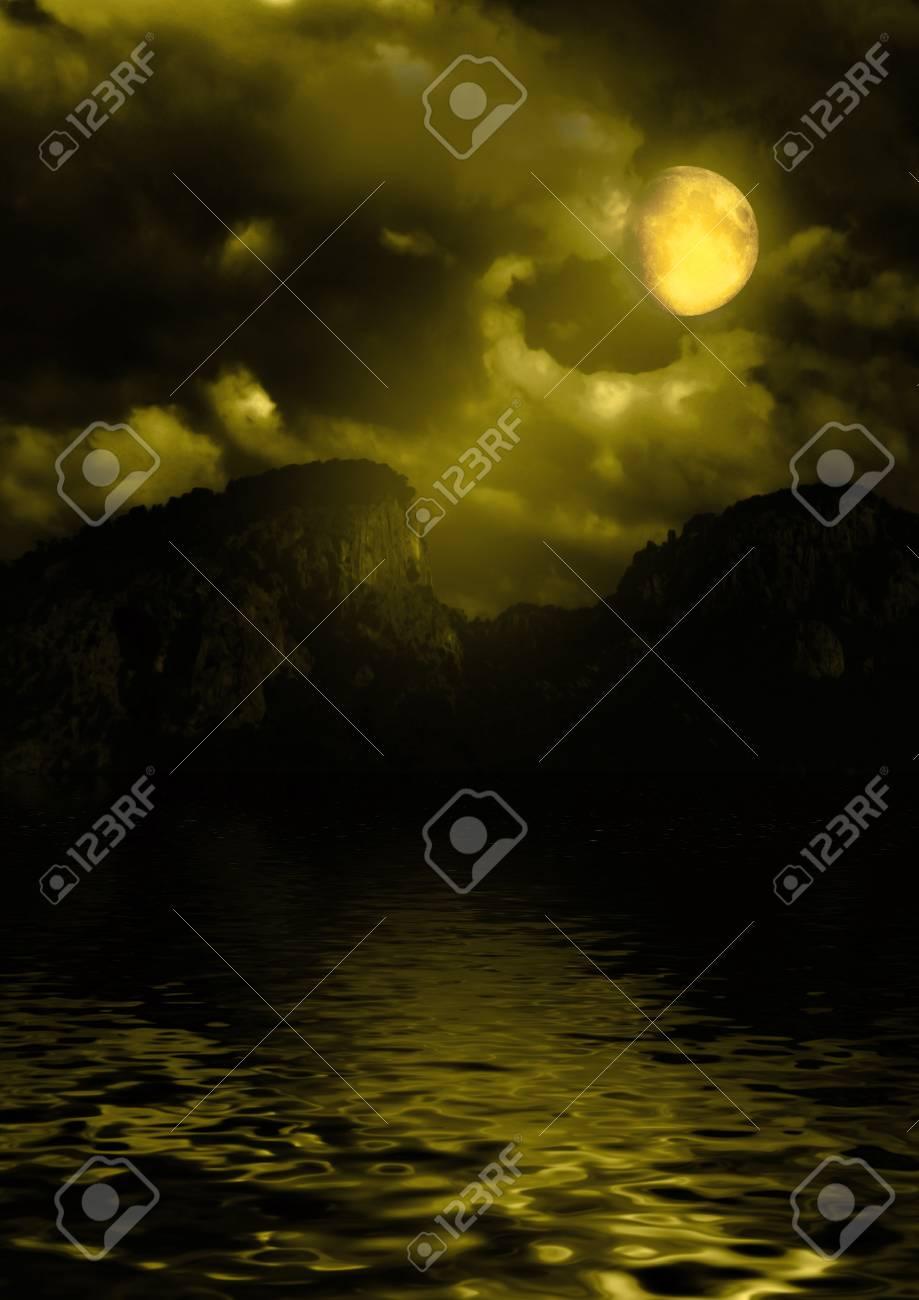 night landscape Stock Photo - 17078665