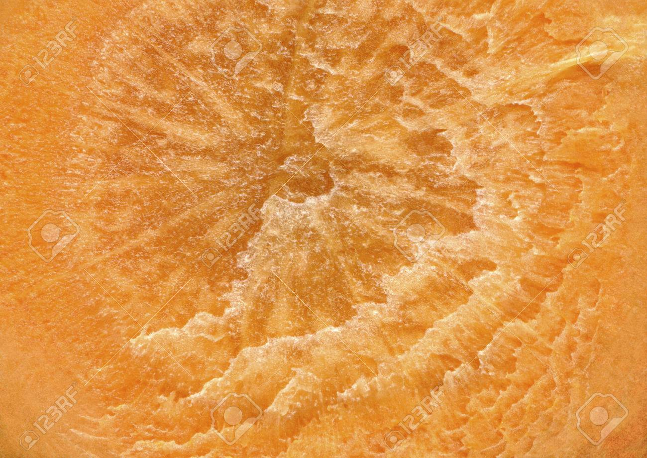 A cross section of natural carrots as a background. Detail of slices of carrots, which smudges, stains, streaks, the structure of the core. - 45104379