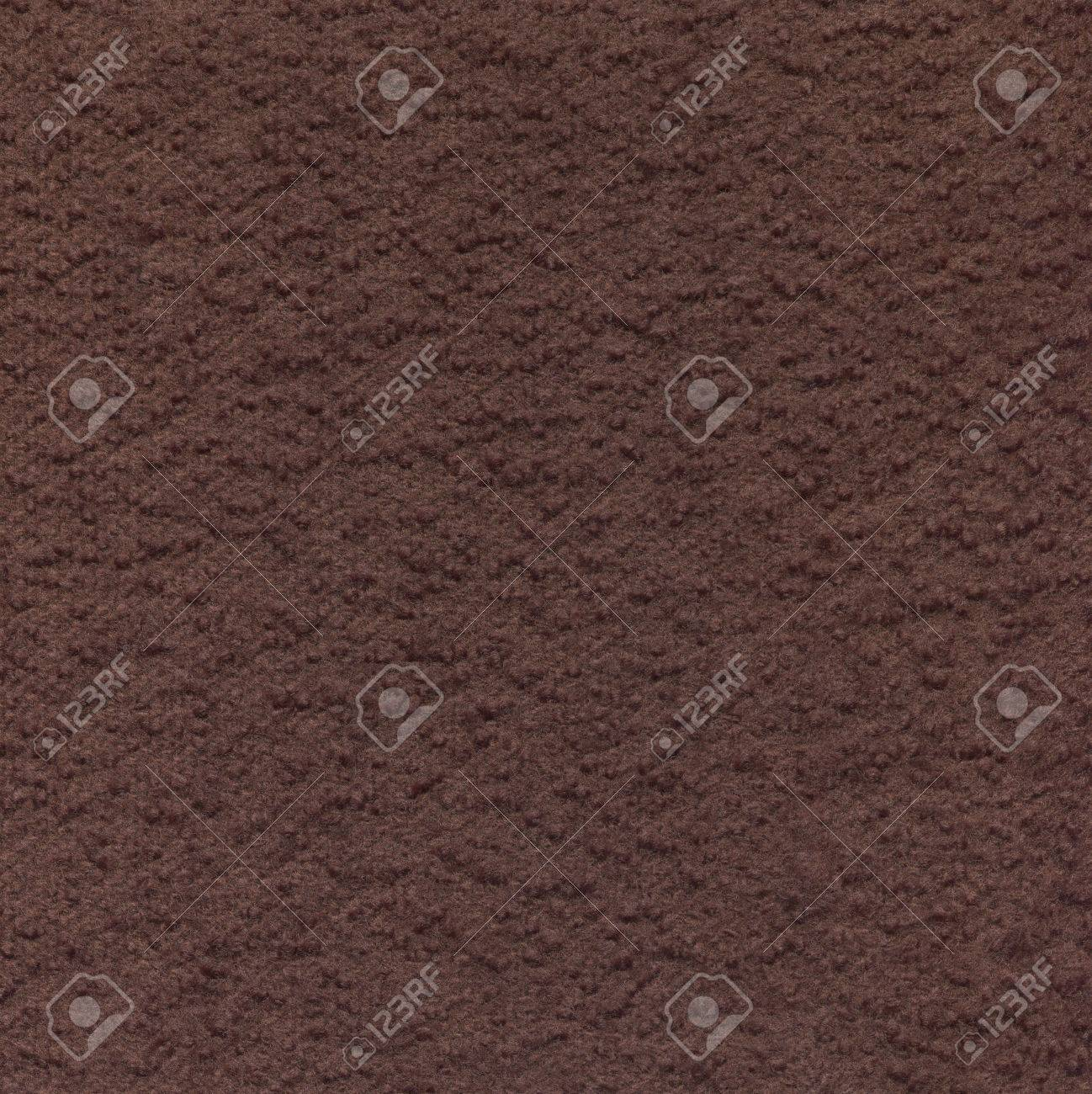 Brown wool fabric with a boucle texture. Decorative material for the background. - 55008914