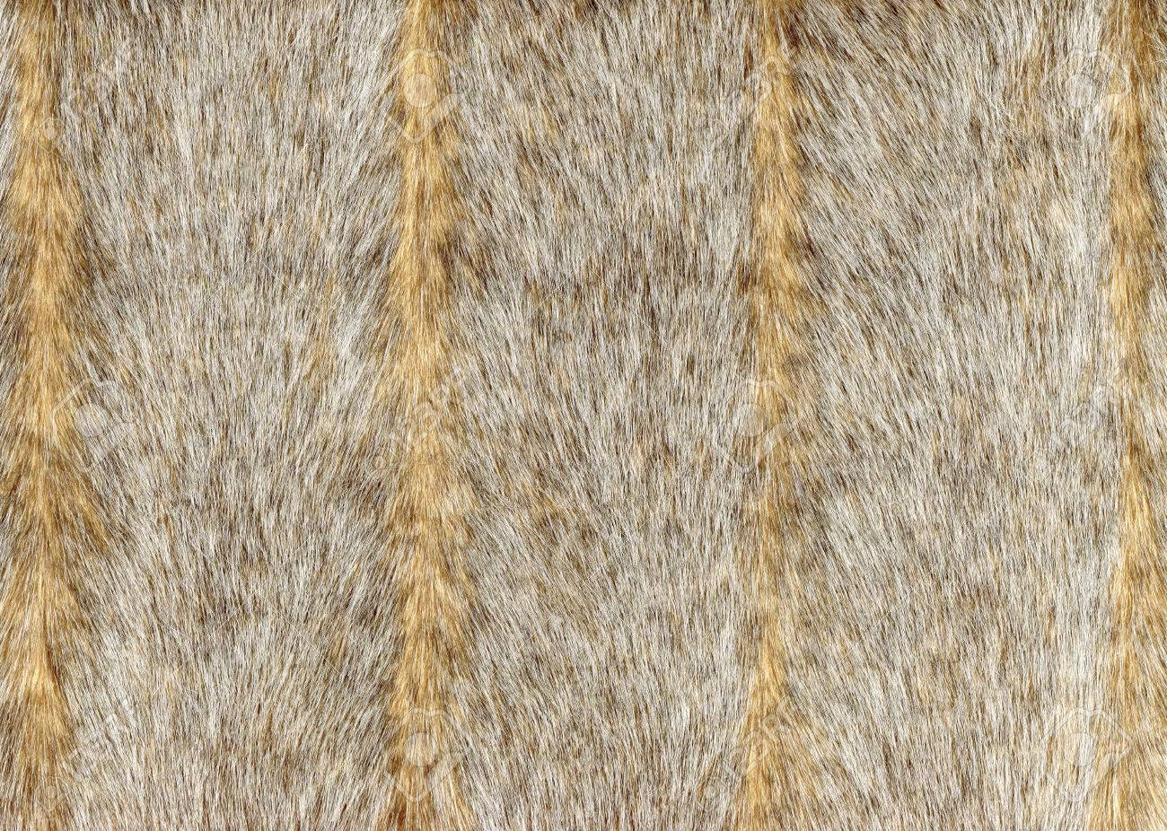 Grey faux fur with vertical stripes.Background, texture, decorative wallpapers - 69106734