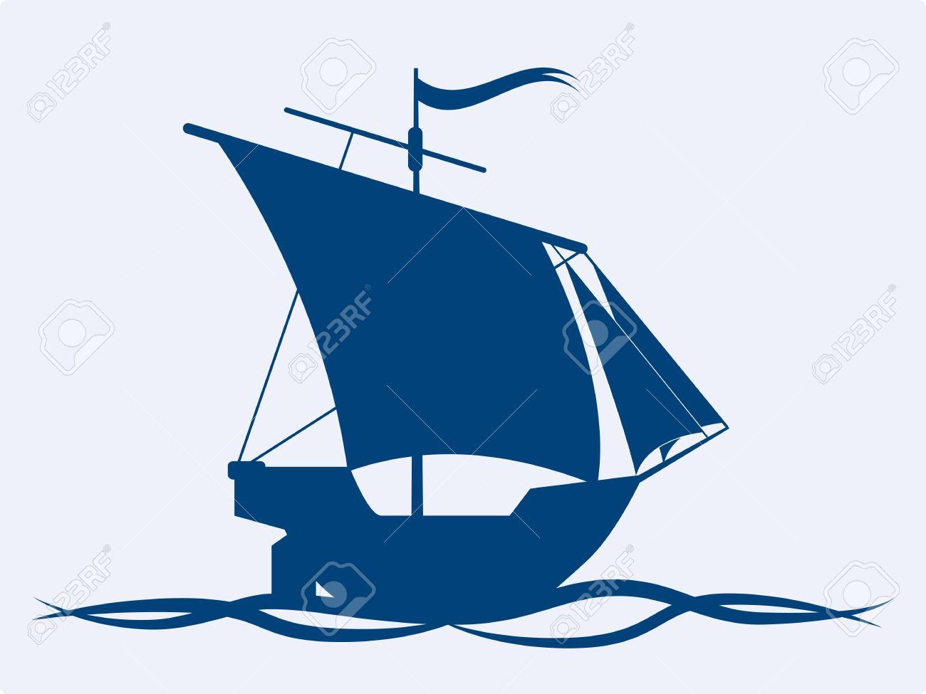 sail ship vector icon royalty free cliparts vectors and stock rh 123rf com ship victoria ship victoria