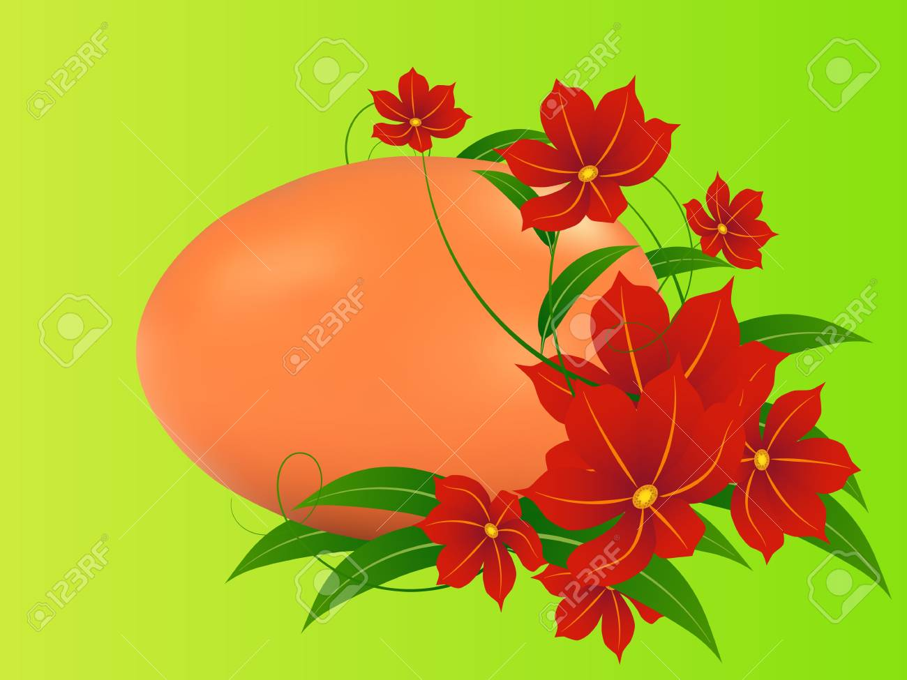 Easter background Stock Vector - 17369363