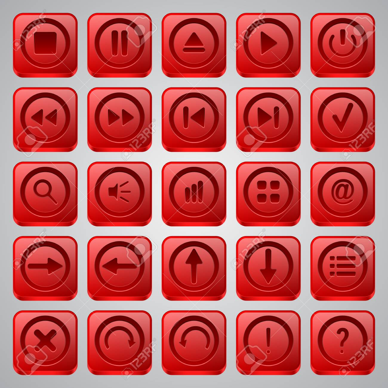 Interface icons vector set Stock Vector - 20128867