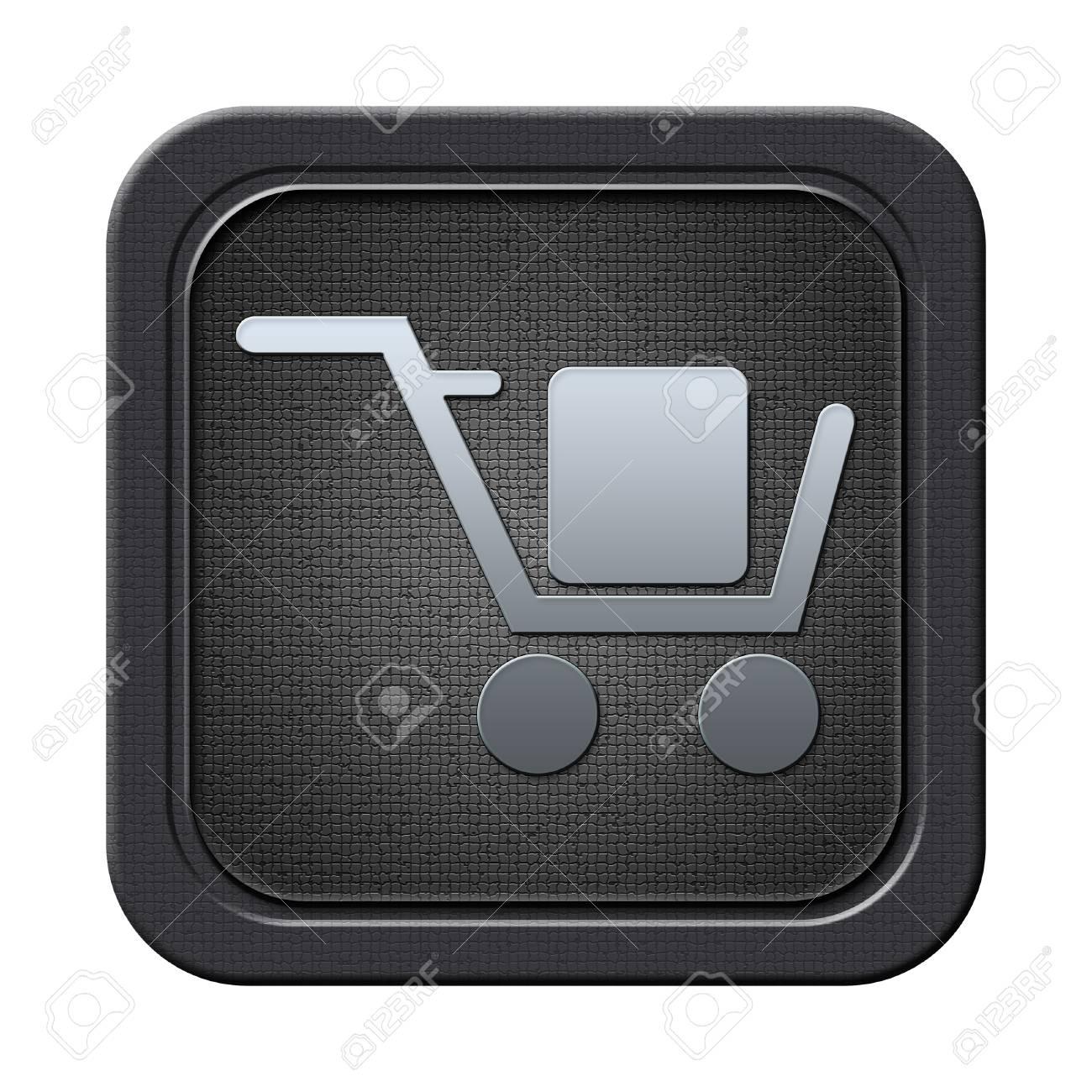 Cart button Stock Photo - 23682223