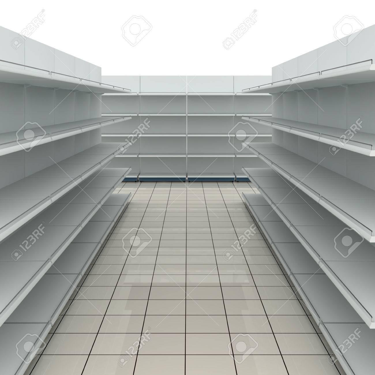 Stupendous Empty Supermarket Shelves Home Remodeling Inspirations Genioncuboardxyz