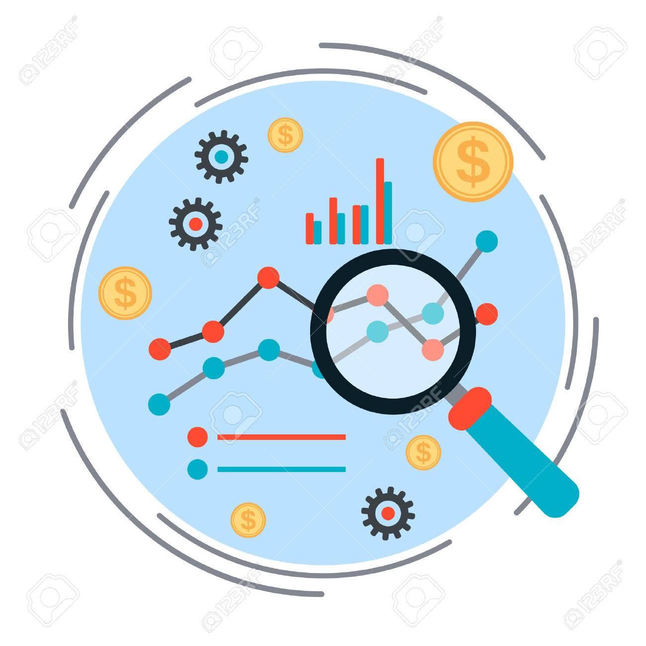Business chart, financial statistics, market analysis concept - 42623768