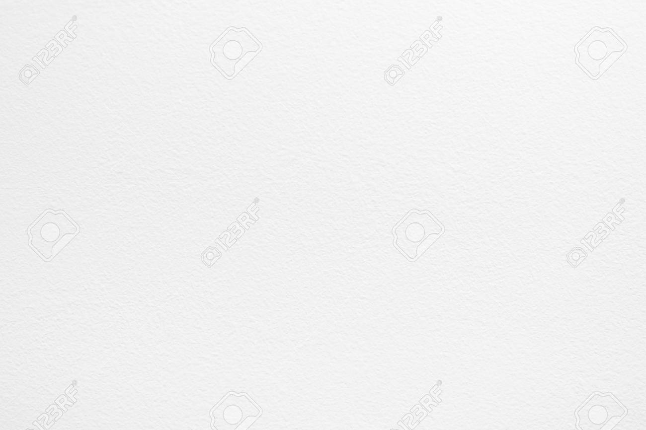 Stock Photo   White Plastered Interior Walls, White Paint, Painted Roller,  Fine Structure