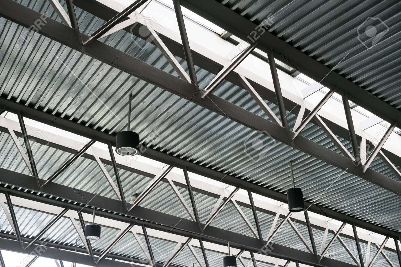 Modern Steel Roof Construction Iron Work Construction Tin Roofs