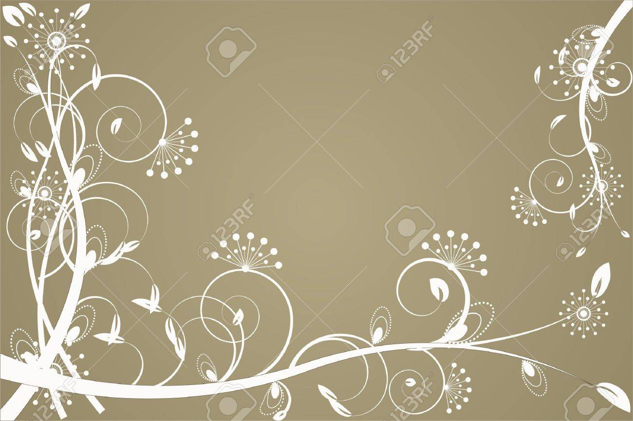 flower decoratively romantically abstraction illustration Stock Photo - 7548621