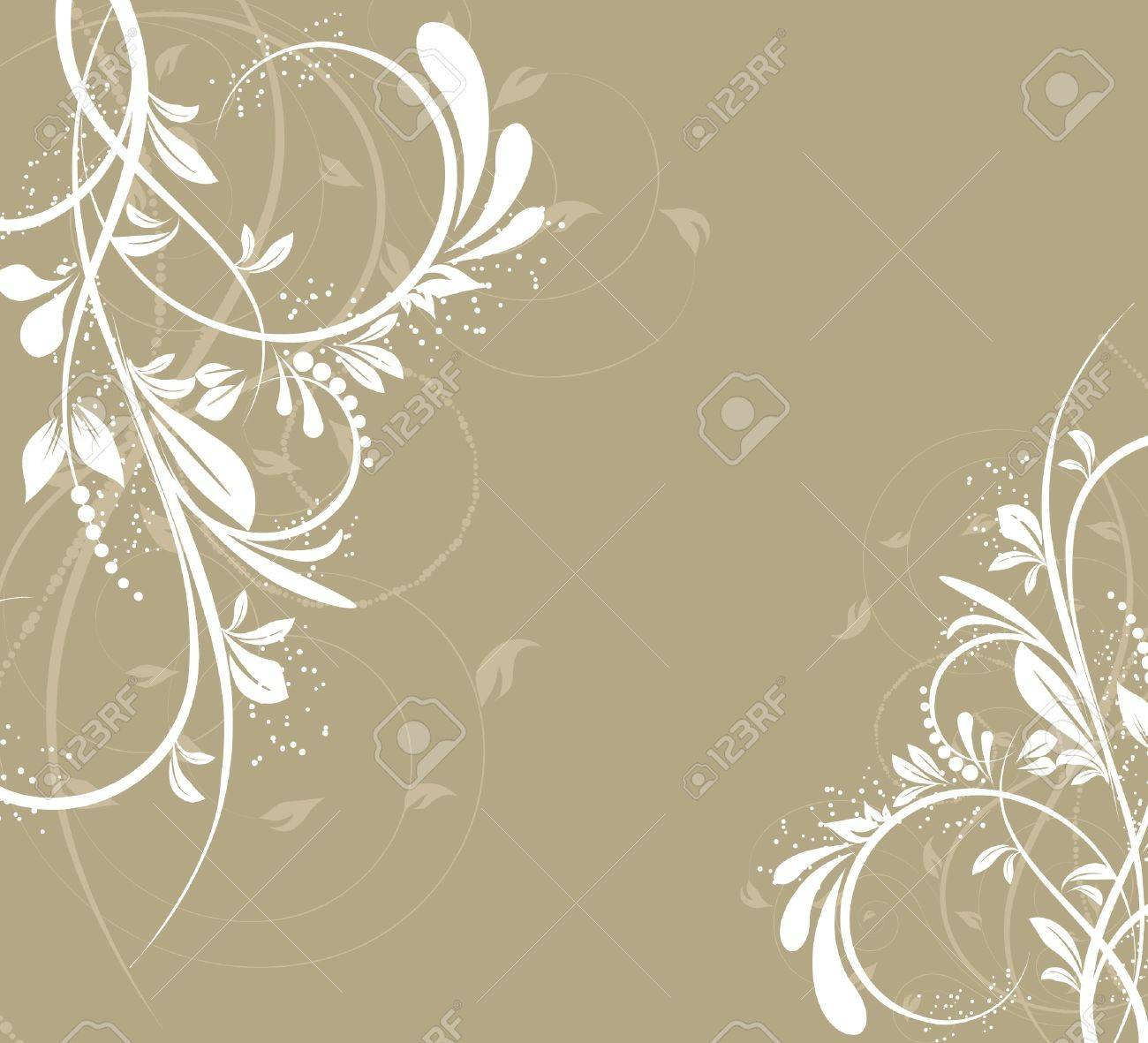 flower creative decorative abstract background Stock Vector - 9602124