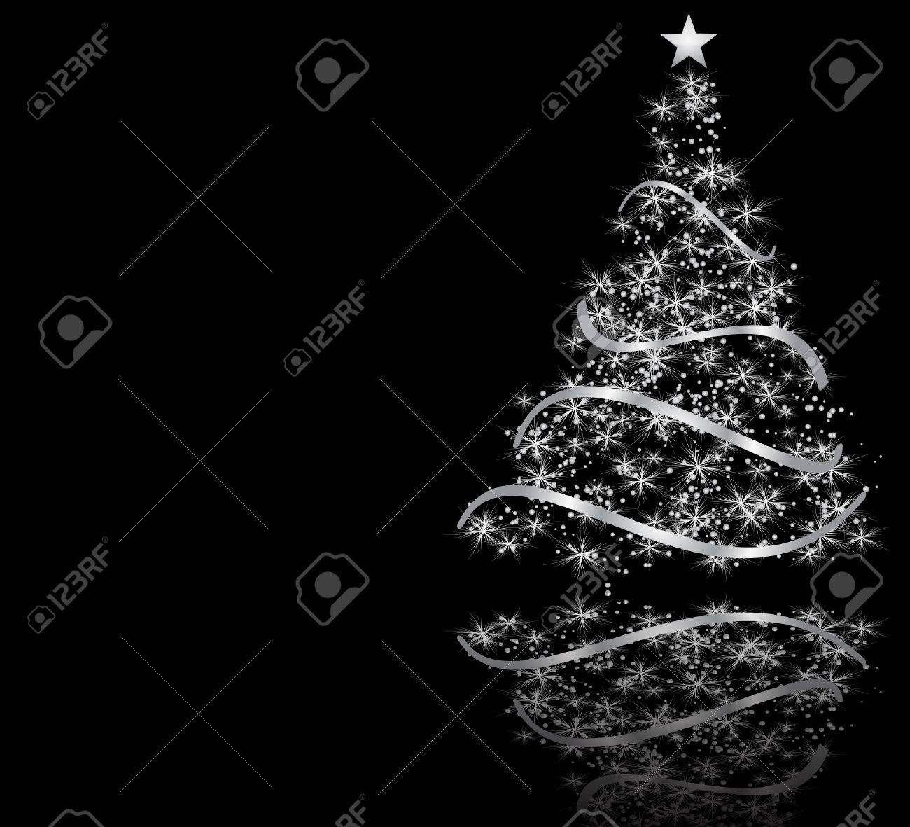 stylized Christmas tree Stock Vector - 10992850