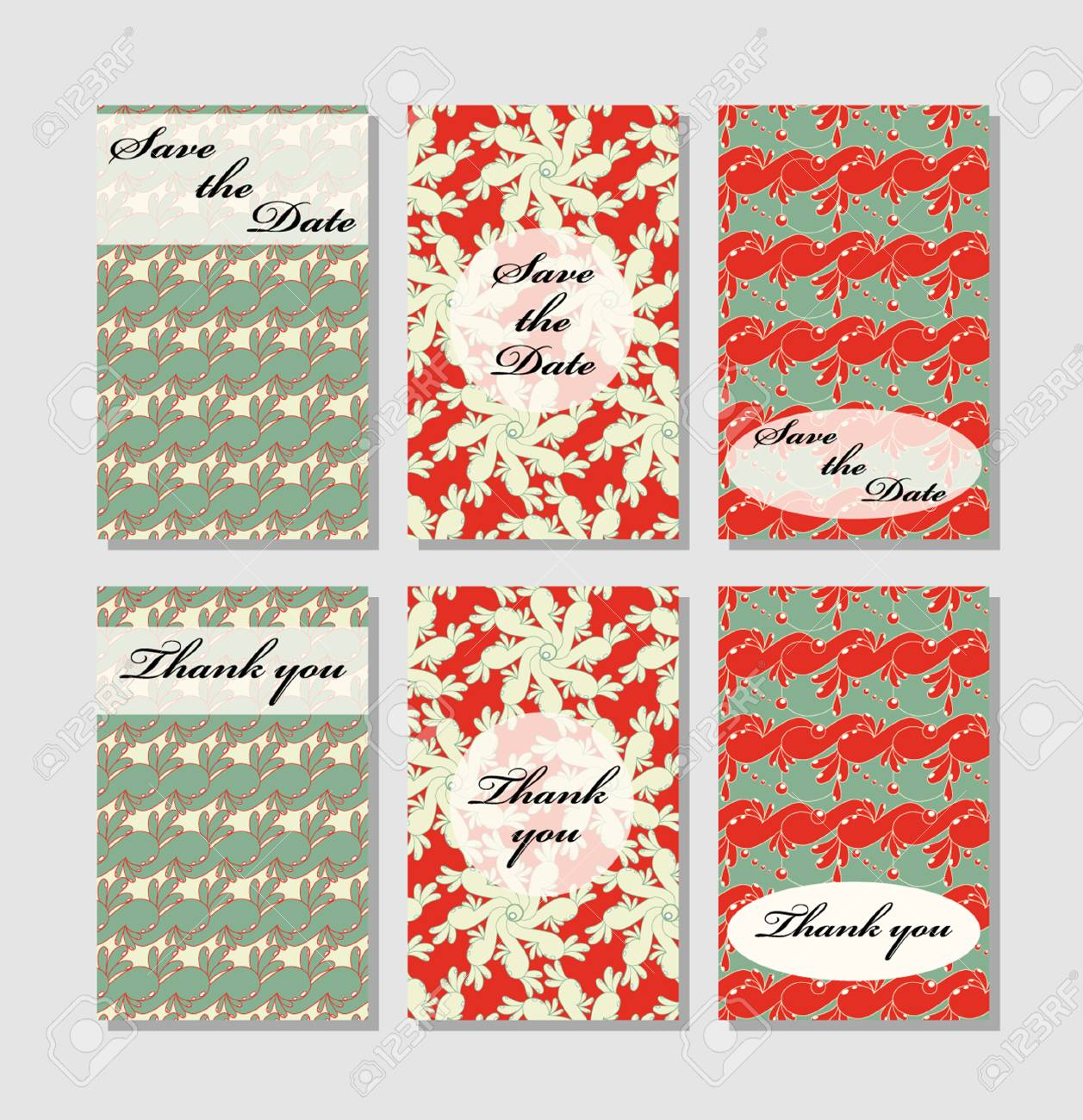 Vintage vector card templates can be used for save the date can be used for save the date baby shower mothers day valentines day birthday cards invitations template vector response card save the date card m4hsunfo