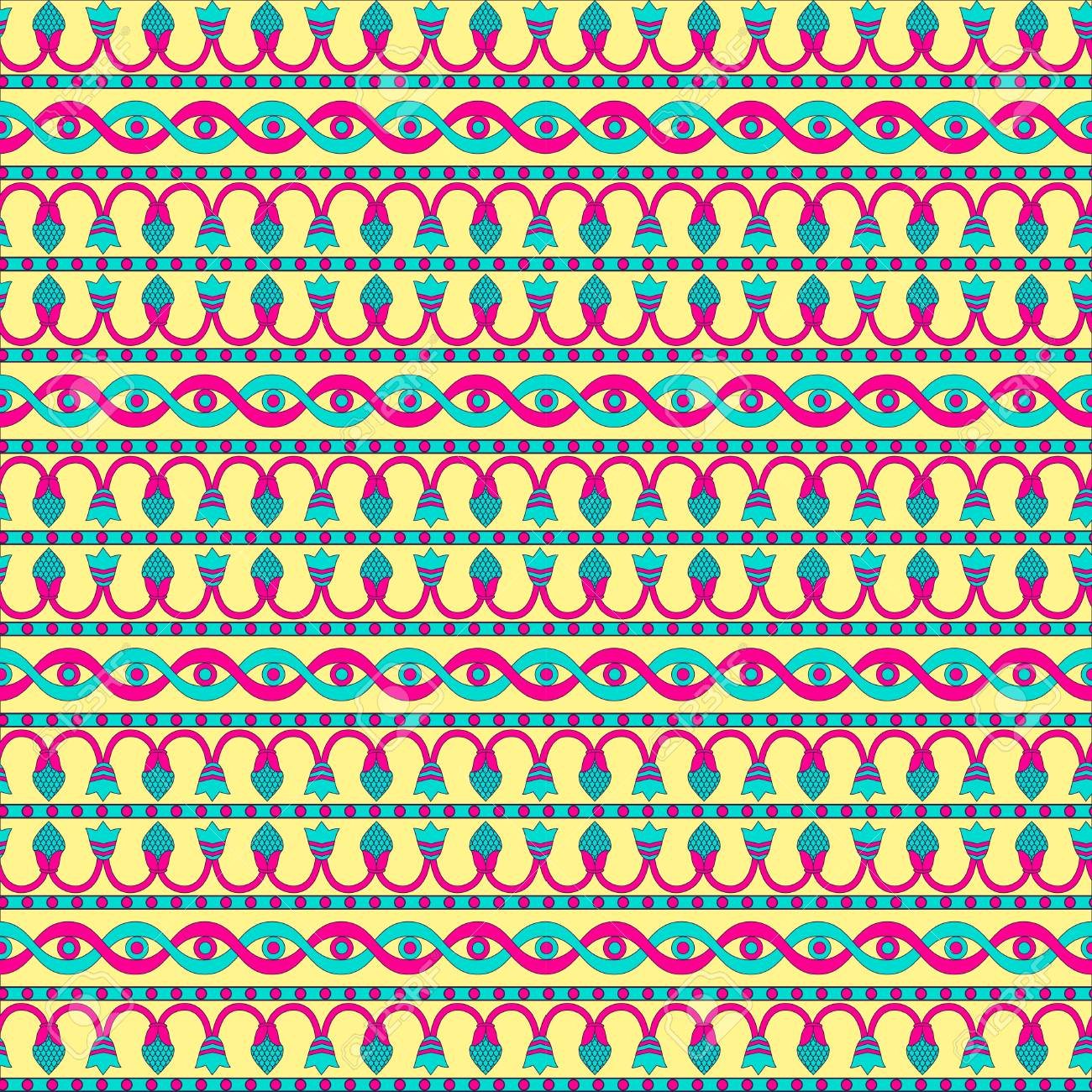 Ancient mesopotamia ornament tribal seamless pattern an be tribal seamless pattern an be used for cloth jackets stopboris Image collections