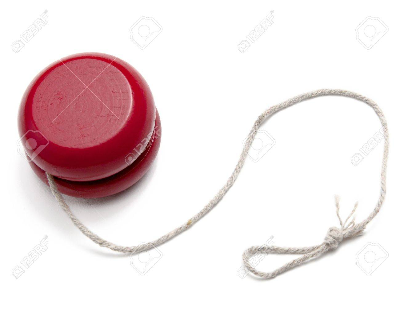A Red Yo-yo Yoyo With String Isolated On White Stock Photo ... for Clipart Yoyo  155sfw