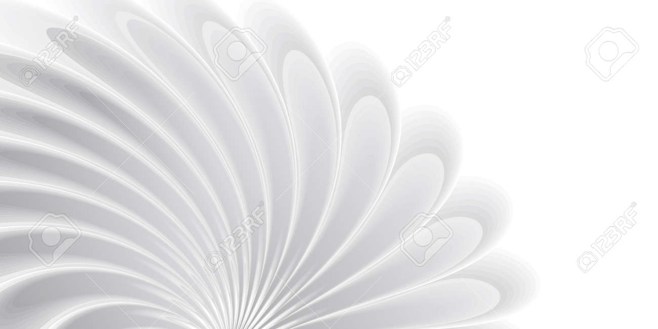 Abstract background with white 3d flower on wind, soft texture, cover wallpaper - 172591307
