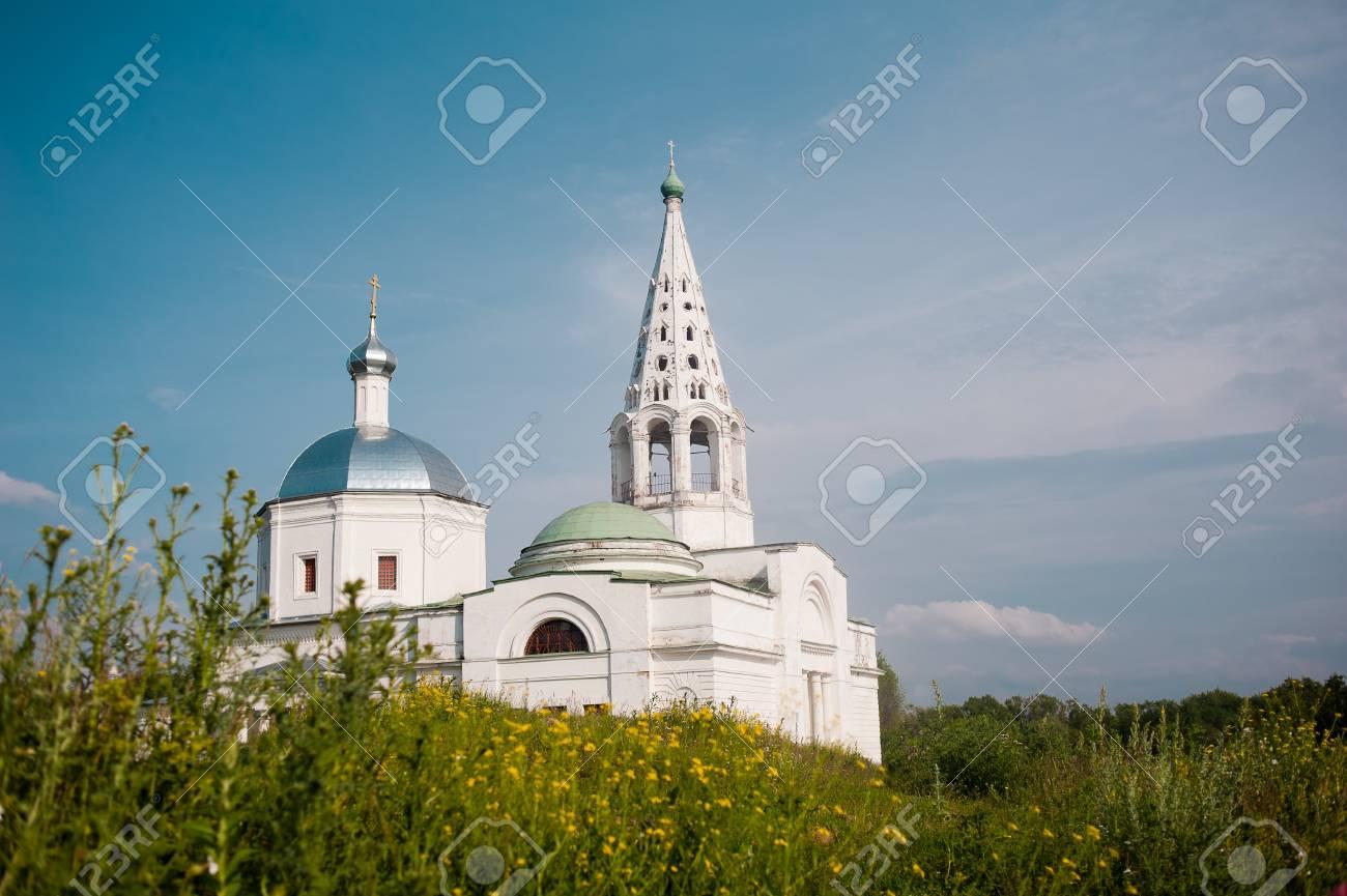 Russian church in summer Stock Photo - 14572857