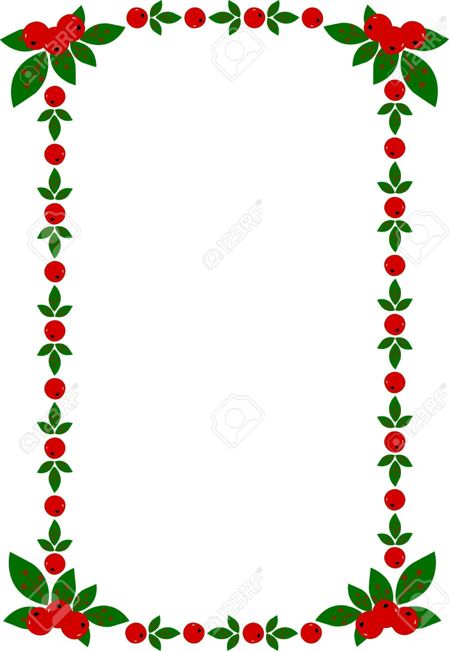 緑色のスプレーでクリスマス フレームのベクトル イラスト