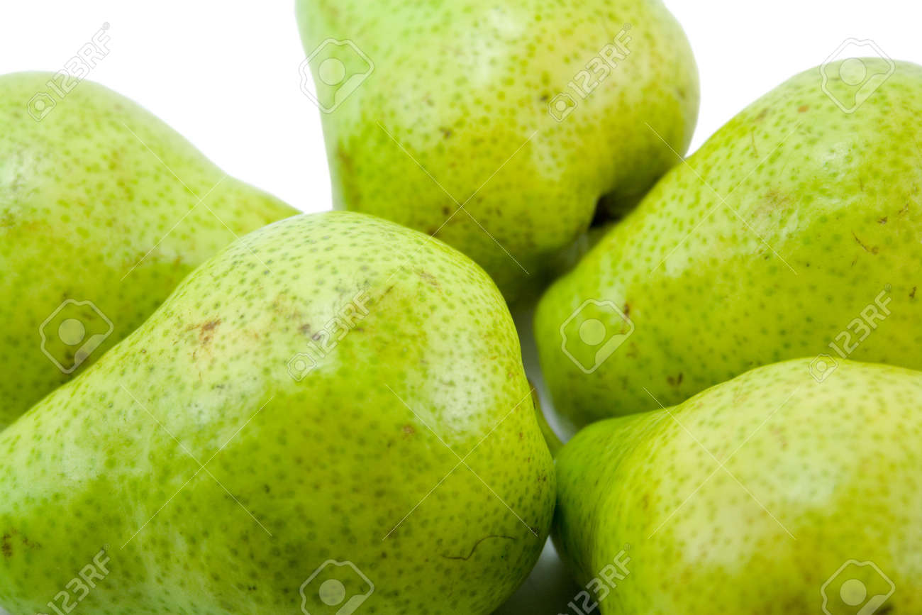 pears close-up isolated Stock Photo - 2602439