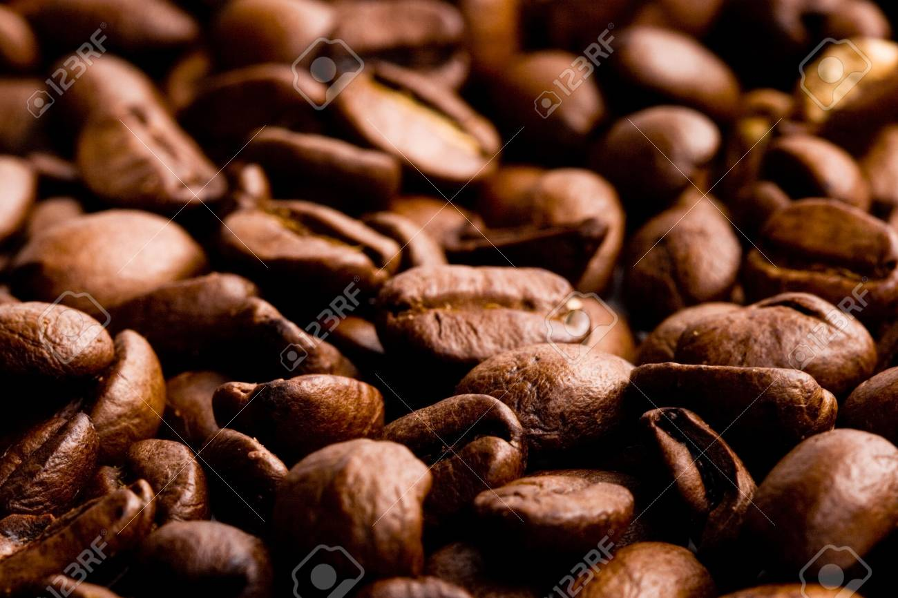 coffee beans, macro closeup Stock Photo - 5991656