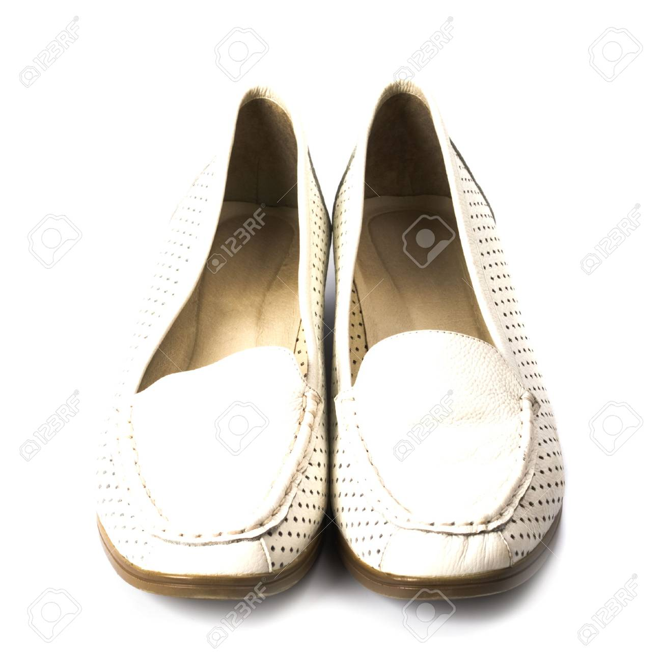pair of shoes isolated on white background Stock Photo - 6114385