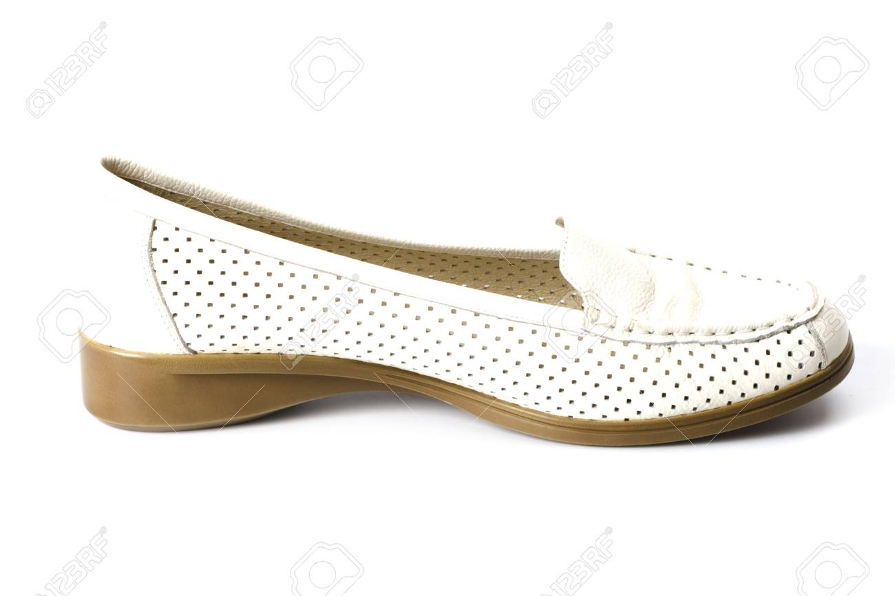 single shoe isolated on white background Stock Photo - 6284123