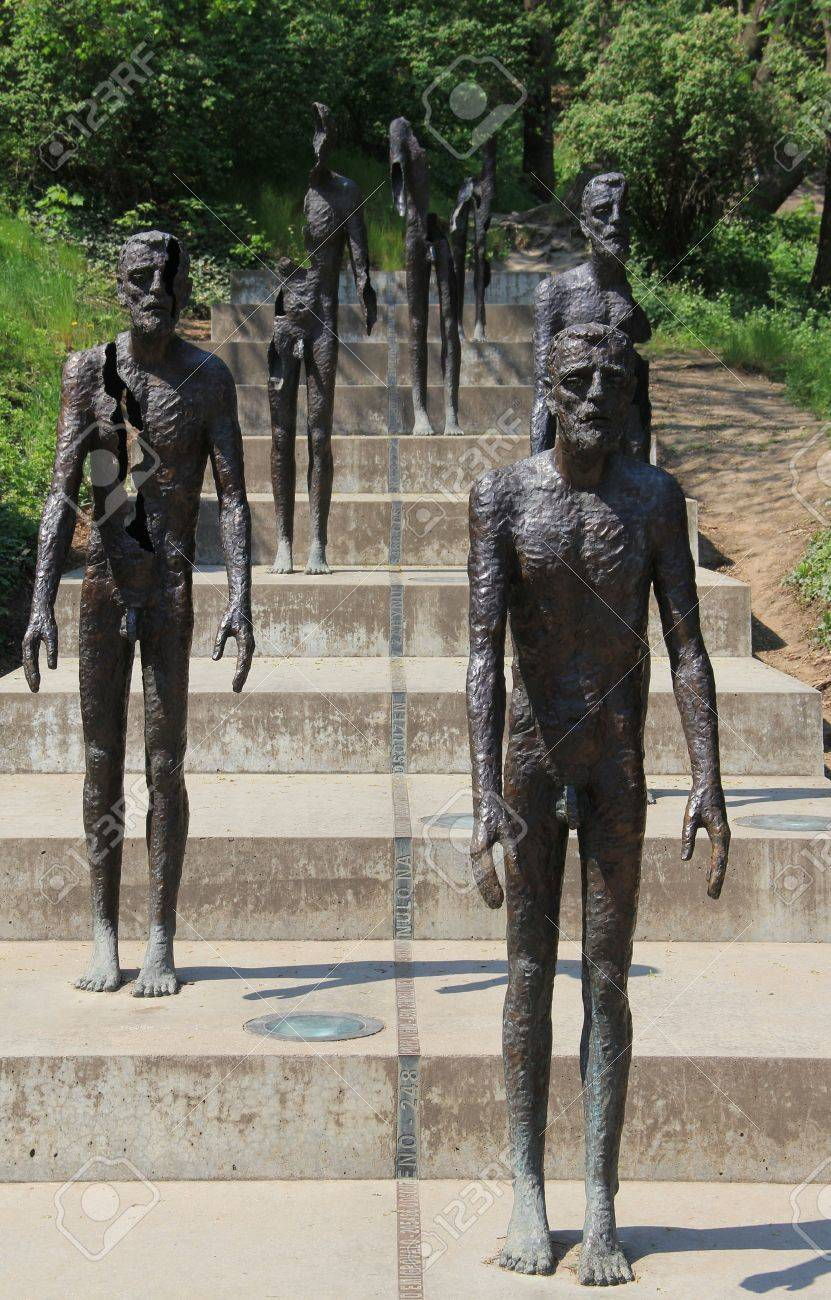 Monument to the victims of communism in Prague Stock Photo - 14260135