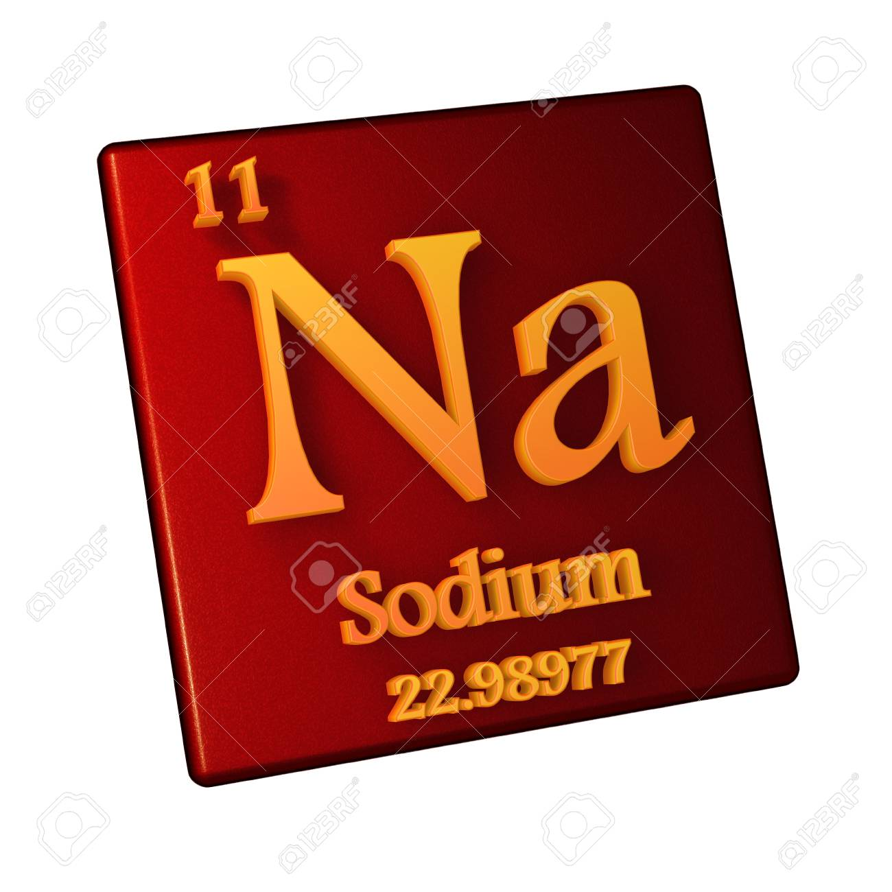 Sodium chemical element number 11 of the periodic table of the illustration sodium chemical element number 11 of the periodic table of the elements 3d illustration urtaz Image collections