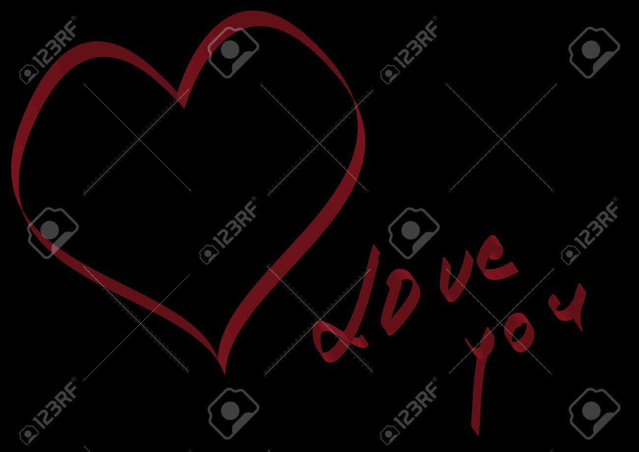 Valentine card Stock Vector - 8536738
