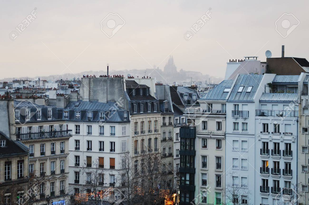 Roofs of Paris - 14989069