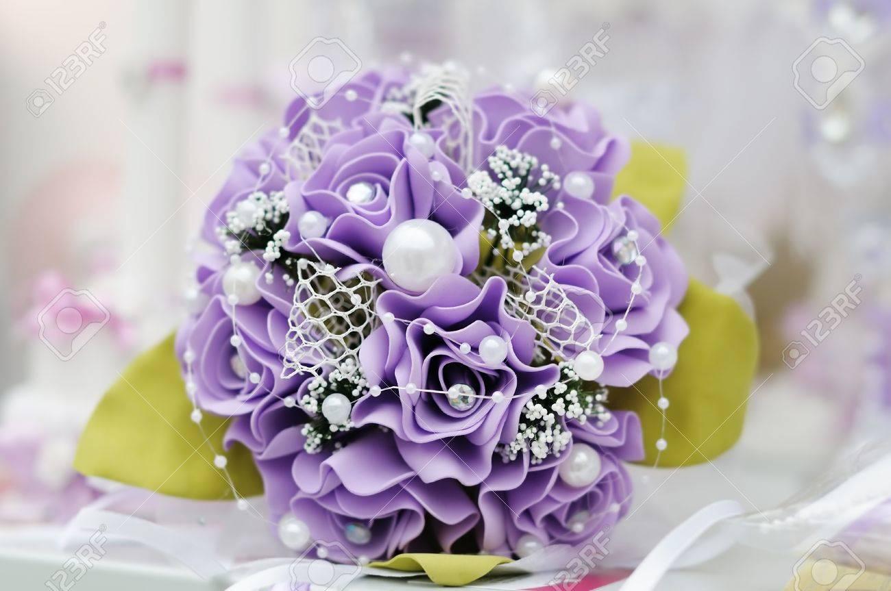 Beautiful purple wedding flowers bouquet stock photo picture and beautiful purple wedding flowers bouquet stock photo 18802000 izmirmasajfo