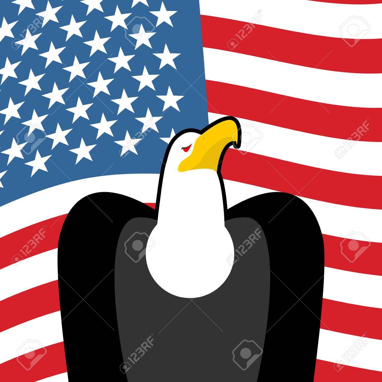 Bald eagle usa national symbols large birds of prey and flag bald eagle usa national symbols large birds of prey and flag of america american buycottarizona Choice Image